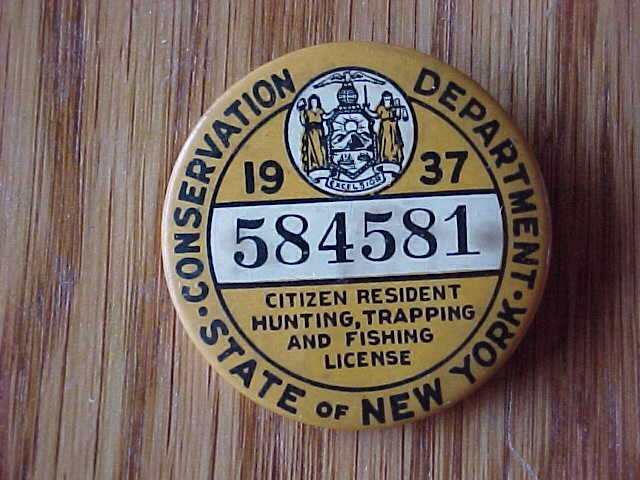 1937 ny new york state resident hunting trapping fishing for New york fishing license online
